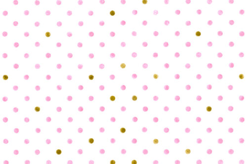 Pink & Gold Grunge Dots Photography Backdrop