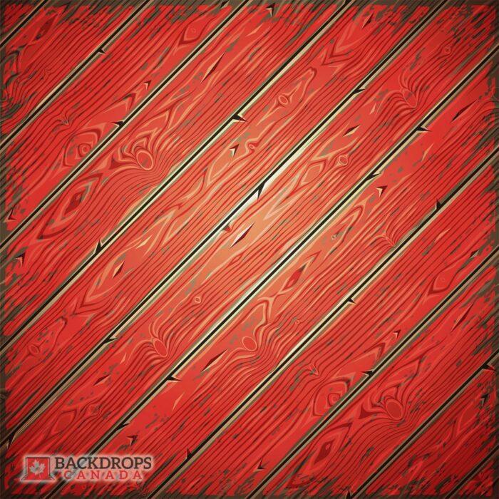 Vector Red Wood Photography Floordrop