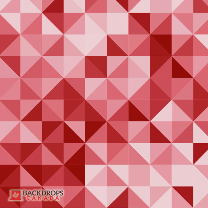 Triangle Red Photography Backdrop