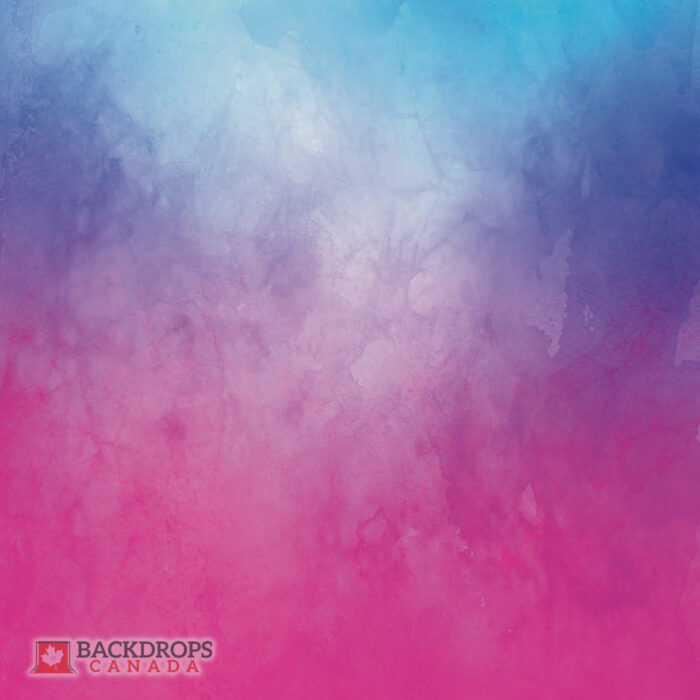 Red Purple Blue Watercolour Photography Backdrop