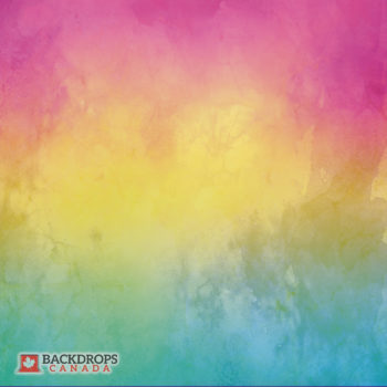 Multicolour Watercolour Photography Backdrop