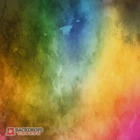 Multicolour Watercolour Photography Backdrop
