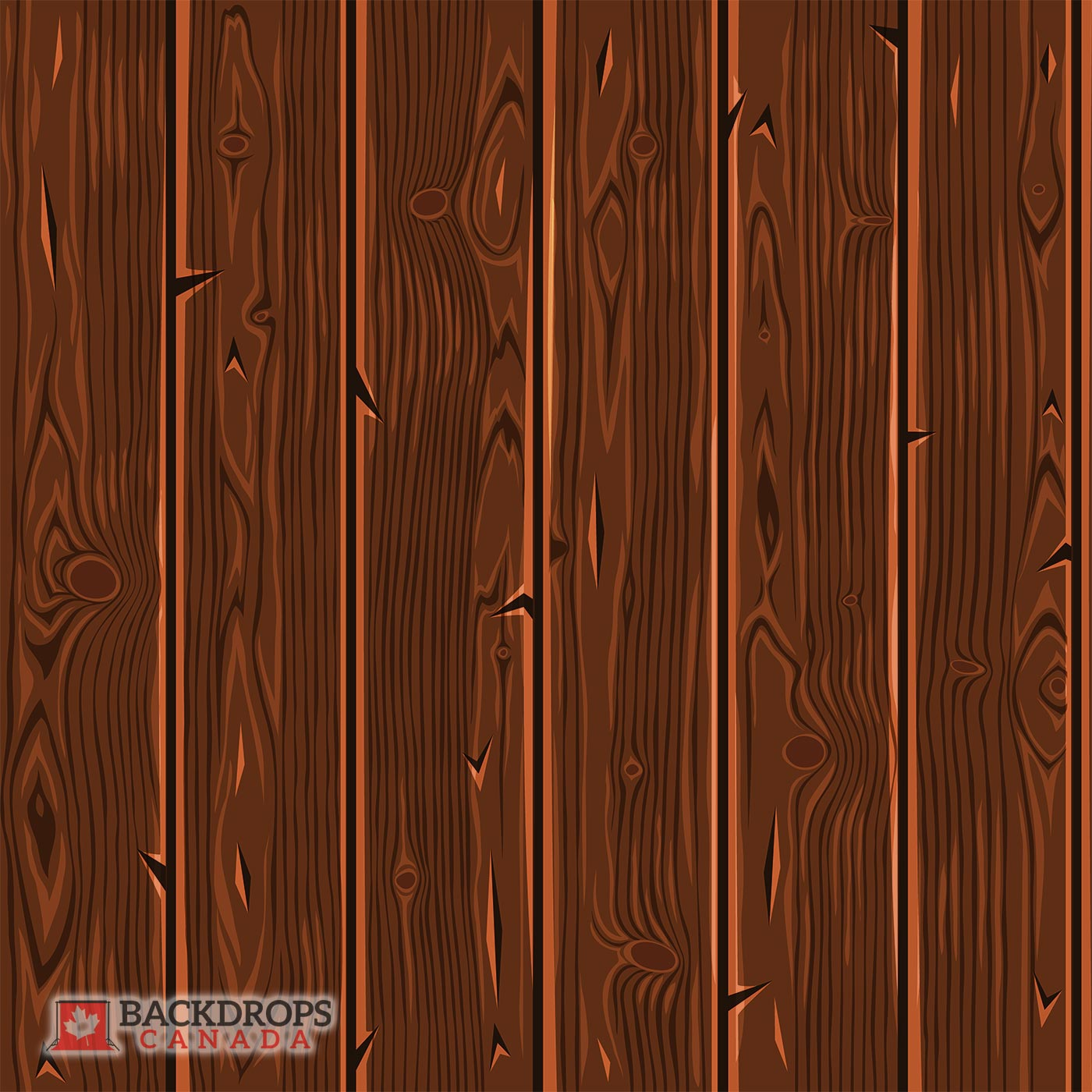 Dark Wood Vector ~ Backdrops Canada