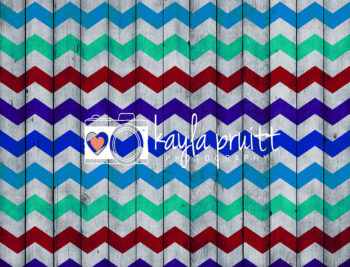 Chevron Beachhouse Photography Backdrop