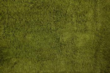 Olive Green Flokati