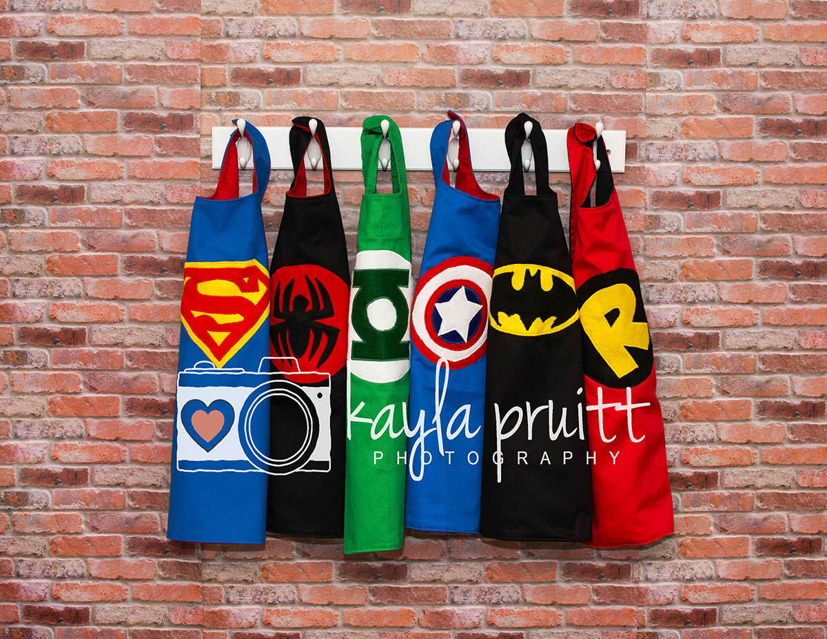 Superhero Capes Photography Backdrop