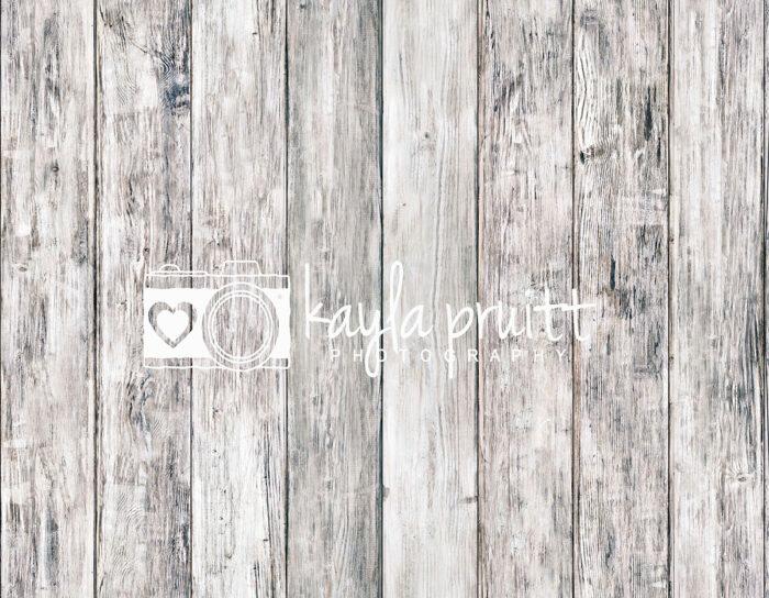 Aged White Wood Floordrop