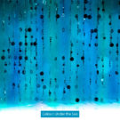 Blue Bubble Curtain Photography Backdrop