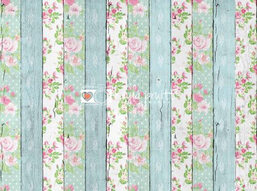 Floral Planks Floordrop