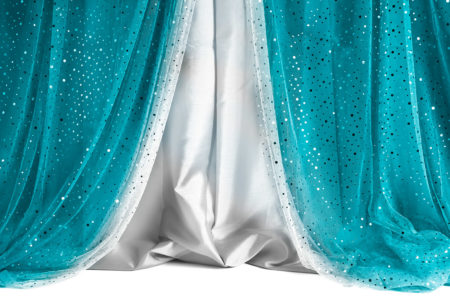Sequin Curtain Tiffany Silver Photography Backdrop