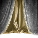 Sequin Curtain Black Antique Gold Photography Backdrop