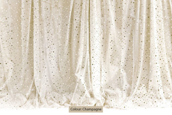 Sequin Curtain Champagne
