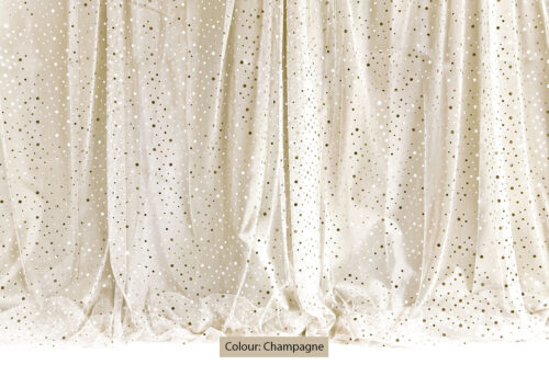 Sequin Curtain Champagne Photography Backdrop