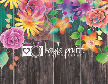 Tropical Planks Photography Backdrop
