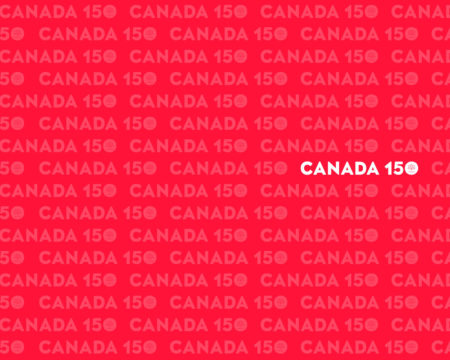 Canada 150 Photography Backdrop