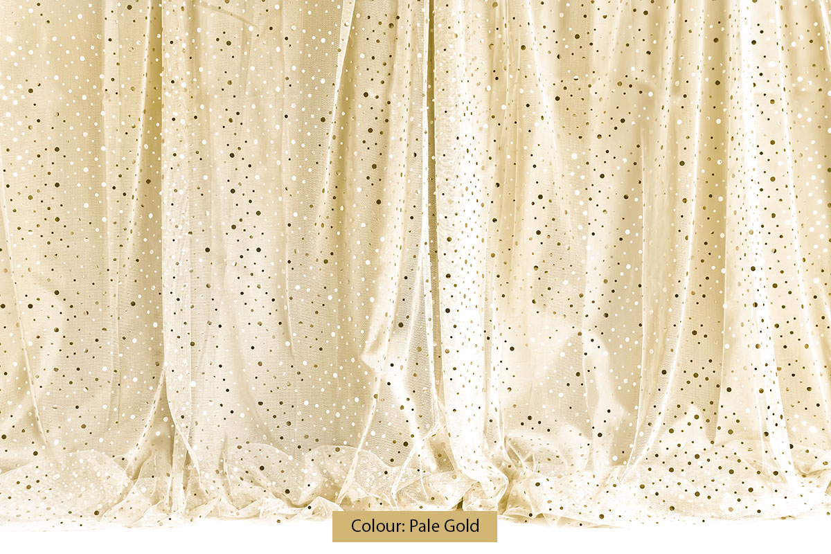 Sequin Curtain Pale Gold Photography Backdrop