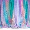 Sequin Curtain Rainbow Photography Backdrop