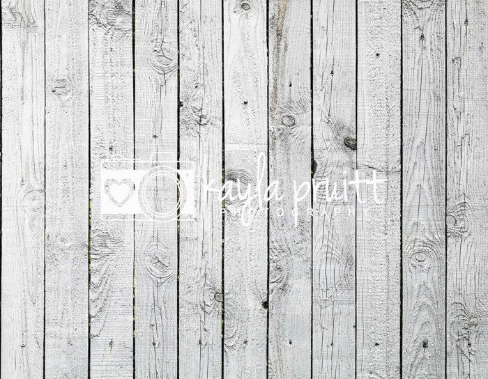 White Floorboards Floordrop