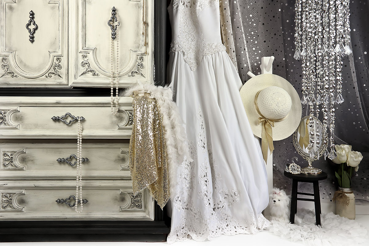 Bridal Dress up photography backdrop