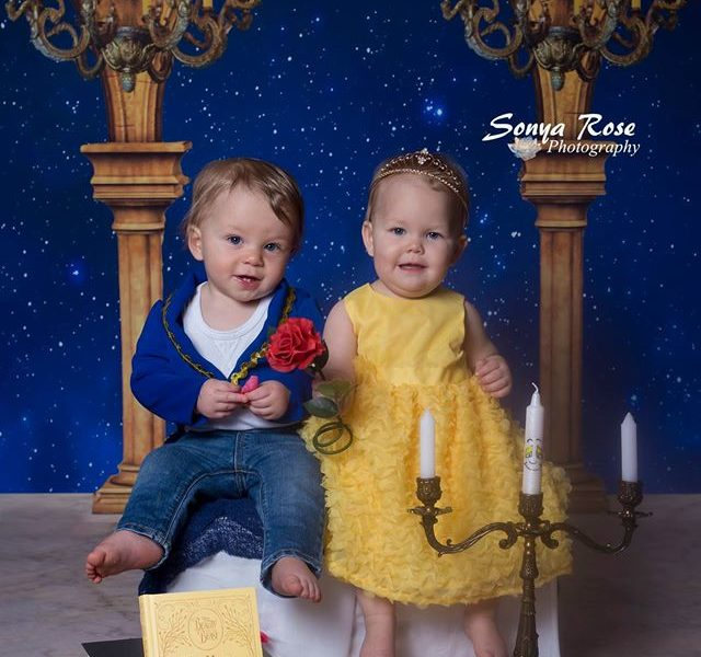 Beauty and the Beast themed photoshoot