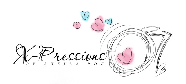 Logo for X-Pressions by Sheila Roe