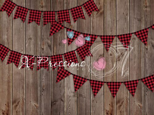 Lumberjack Banner Photography Backdrop