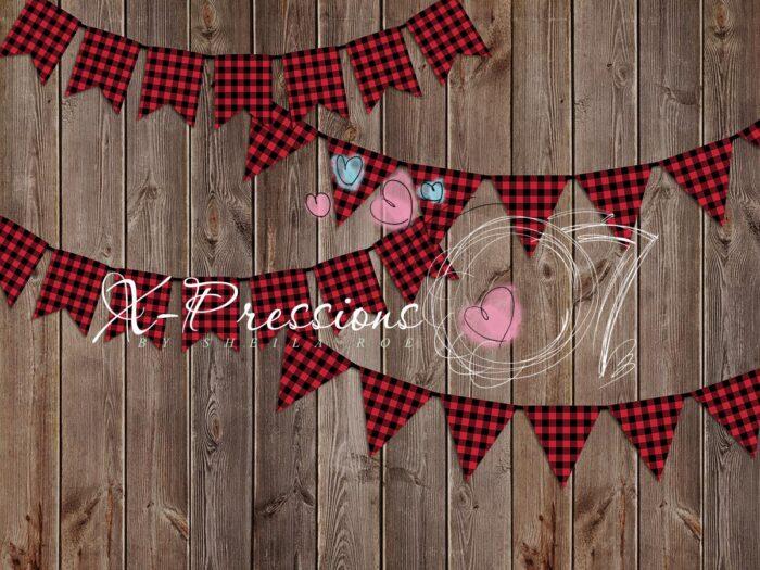 Lumberjack Banner Photography Backdrop