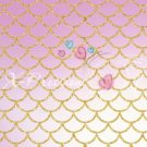 Mermaid Tail Light Pink Photography Backdrop