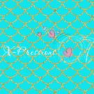 Mermaid Tail Teal Photography Backdrop