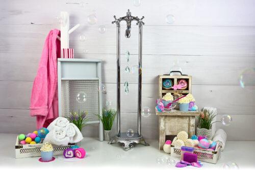 Super Sweet Bathtime Photography Backdrop