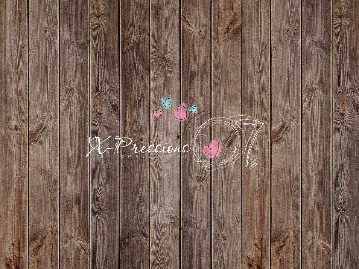 Soft Brown Wood Photography Backdrop