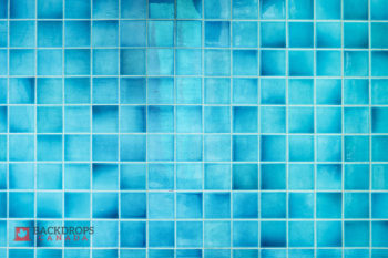 Blue Mosaic Photography Backdrop