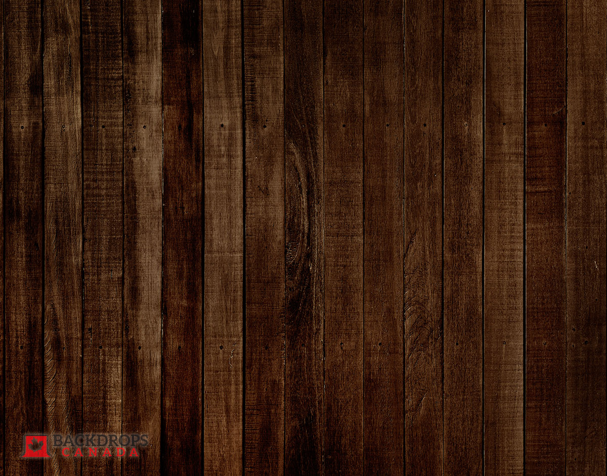 Espresso Brown Wooden Photography Backdrop