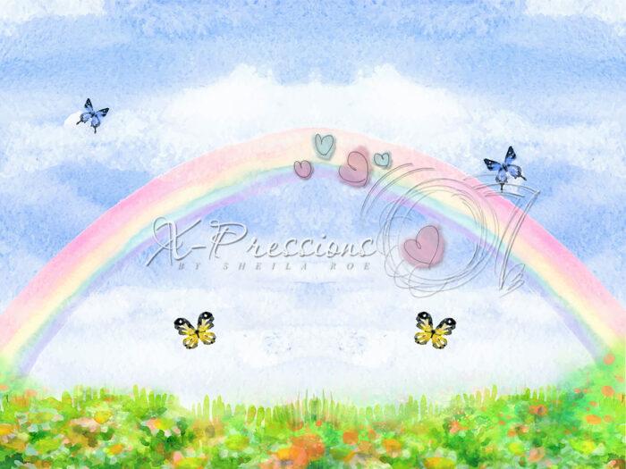 Rainbow Photography Backdrop