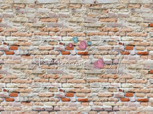 Crumbling Brick Wall Backdrop