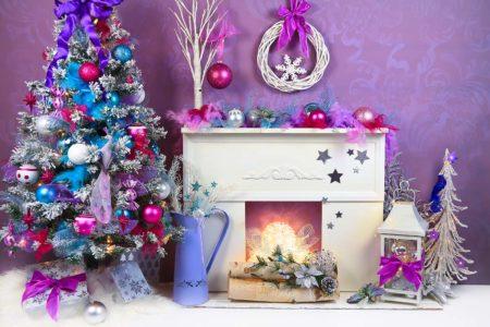 Colourful Christmas Backdrop