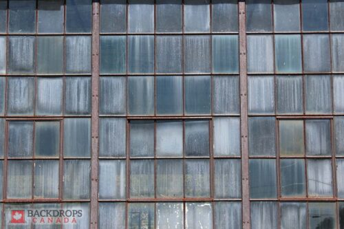 Rusted Windows Backdrop