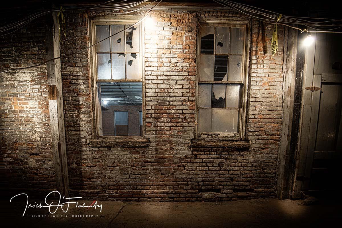 Warehouse with Broken Window Panes