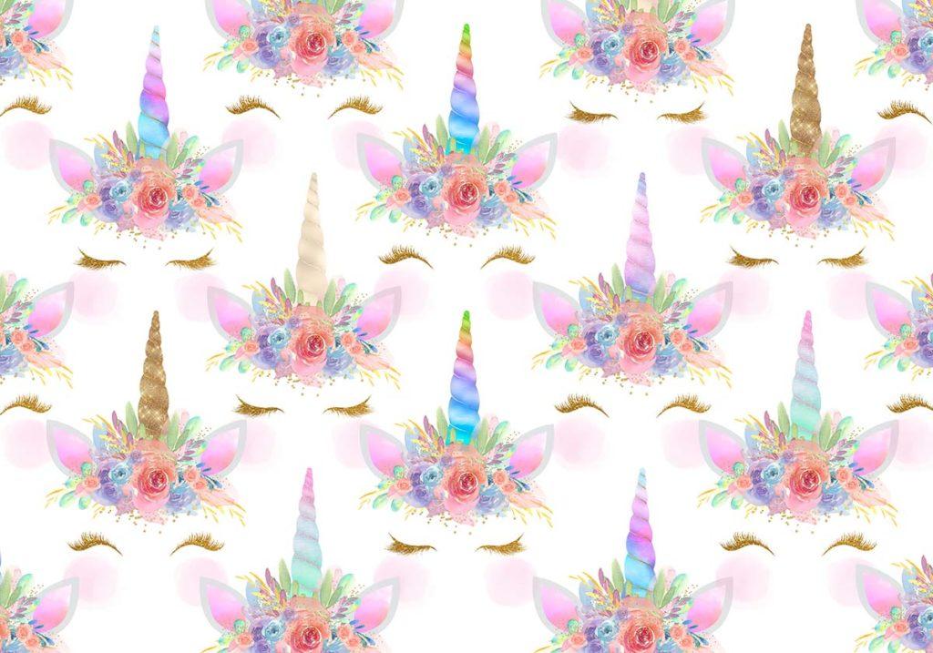 glitter unicorn crowns  3 options