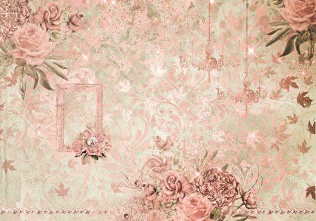 Glitzy Pink Vintage Backdrop
