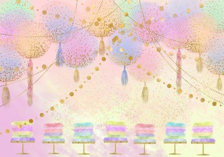 Glitter Birthday Backdrop