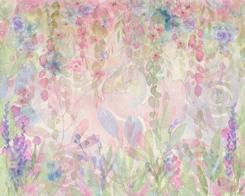 Floral Watercolour Layla Backdrop