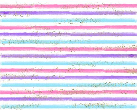 Gold Glitter Pastel Stripes Backdrop