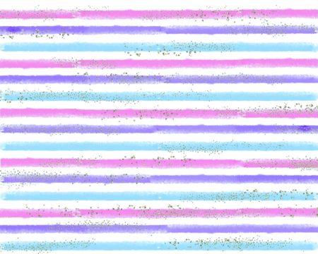 Silver Glitter Pastel Stripes Backdrop
