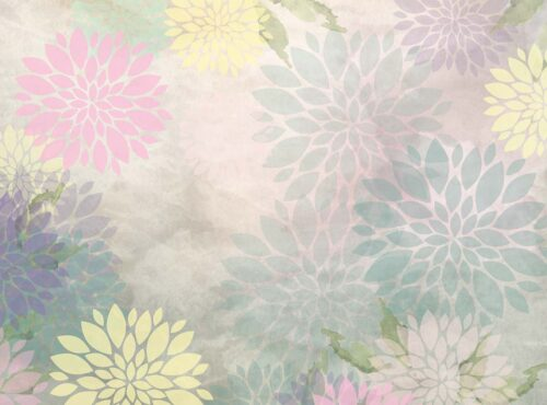 Pastel Peonies Floral Backdrop