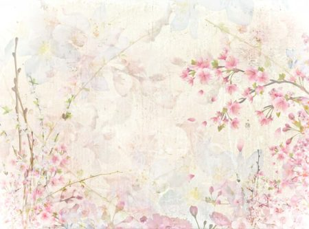 Suzanne Light Floral Backdrop
