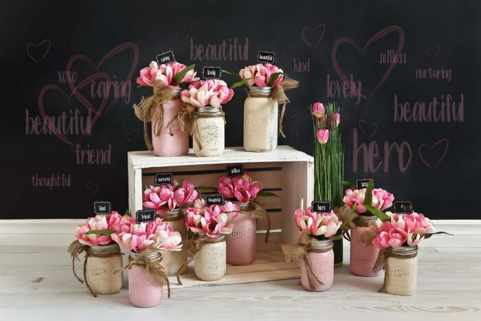 Women's Day Backdrop for Mother's Day