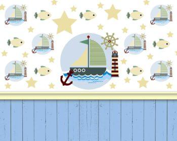 Little Fisherman Backdrop