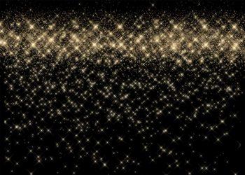 Gatsby Gold Sparkling Backdrop