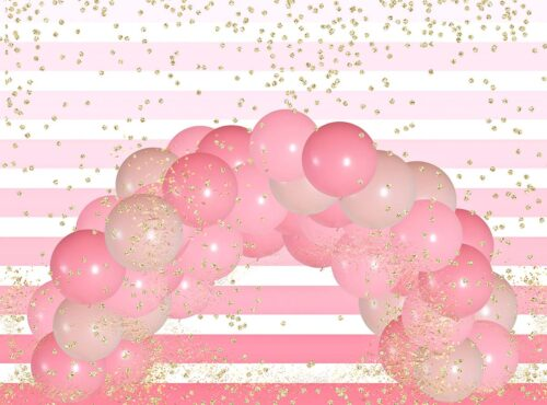 Confetti Balloon Arch Photography Backdrop